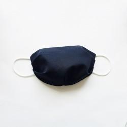 Masque de protection pour enfant et adulte - Bleu marine